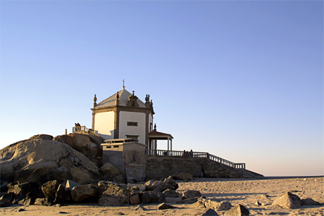 Beach church Porto photo