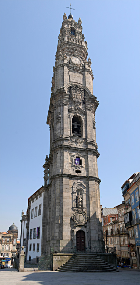 Clerigos Tower and Church Porto