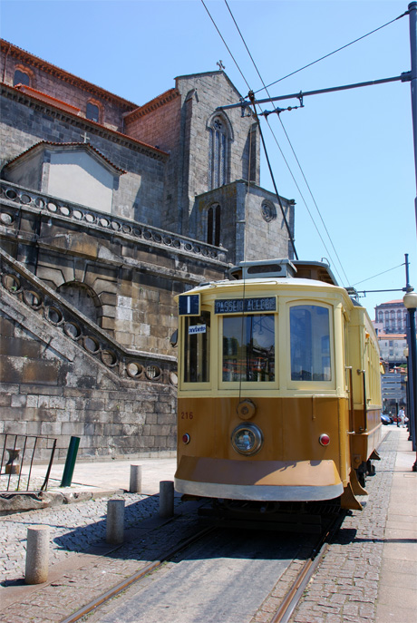 Old trams Oporto