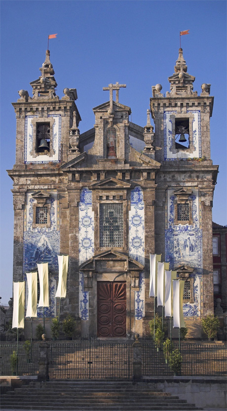 Santo Ildefonso Church Porto